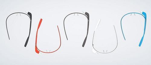 Die Google Brille in verschiedenen farben