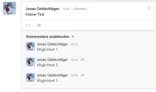 So erstellen wir eine Umfrage auf Google Plus
