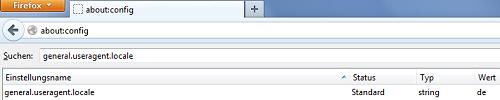 Sprache manuell ändern unter Firefox!