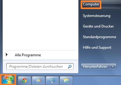 Versteckte Ordner unter Windows 7 anzeigen