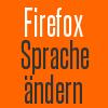 firefox sprache aendern