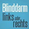 blinddarm rechts links