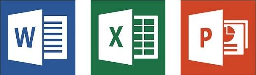 EDV-Kenntnisse: Umgang mit Word, Excel und Powerpoint