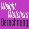weight watchers punkte berechnen